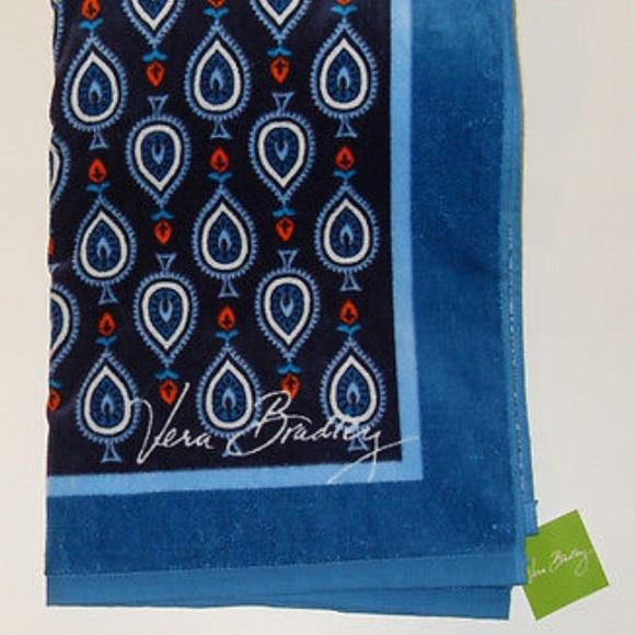 Vera Bradley Whale Beach Towel: Marrakesh Motifs Beach Towel