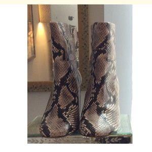 6c5496789ed50 Tory Burch Shoes - Tory Burch Devon snakeskin boots