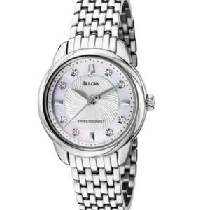 Bulova Accessories - Bulova diamond Precisionist watch, NWT
