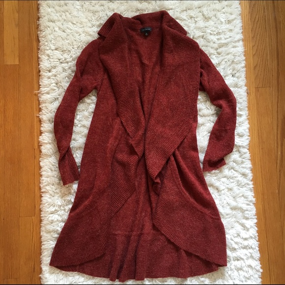 74% off The Limited Sweaters - Maroon rust color Limited long ...