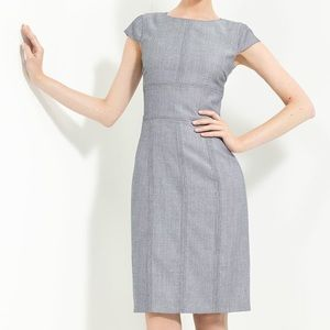 Armani Collezioni Bird's Eye Wool Twill Dress 12