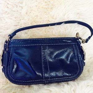 Coach Patent Leather Wristlets
