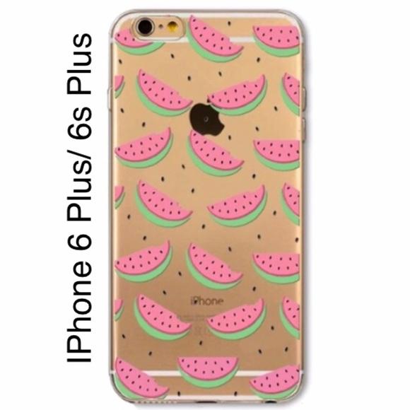 premium selection 9eda9 955dd Lovely Fruit Watermelon Phone Case Iphone 6 Plus