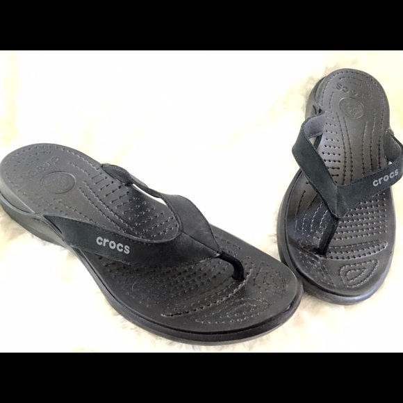283743f9ca409 crocs Shoes - Crocs Women s Capri IV Flip Flops