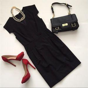NWOT BANANA REPUBLIC BLACK SHEATH DRESS