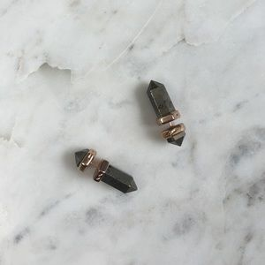 Kendra Scott Jewelry - Jade Ear Jackets in Pyrite