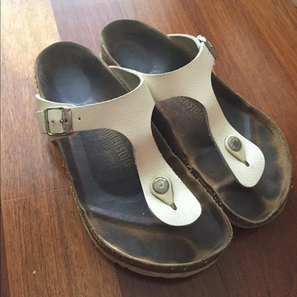 935e2f11c07 Birkenstock Shoes - Birkenstock® Iconic White thong Sandal