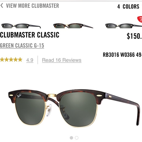190f0be9a6ea58 ... coupon for ray ban clubmaster classic rb3016 w0366 tortoise 93321 cbb08  ...