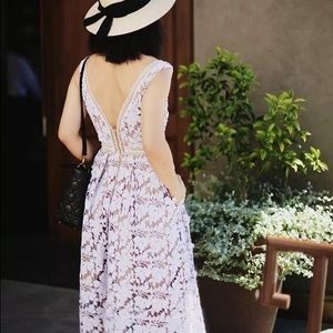 ❗️FINAL SALE❗️Brand new lavender lace dress