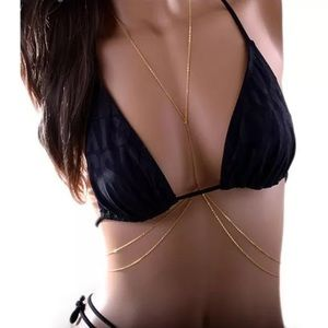Jewelry - Gold body chain