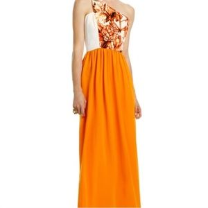Sachin + Babi Dresses & Skirts - Sachin and Babi orange maxi