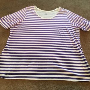 Lane Bryant Striped Top