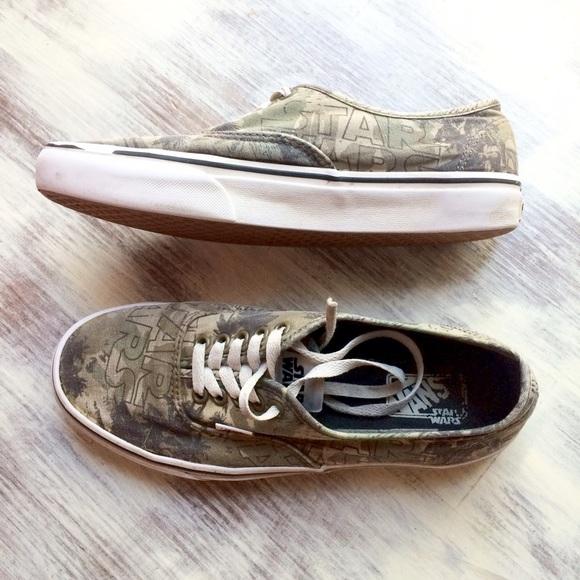 79744c76b9 Vans x STAR WARS Boba Fett sneakers. M 5719269d4225be17dd008582