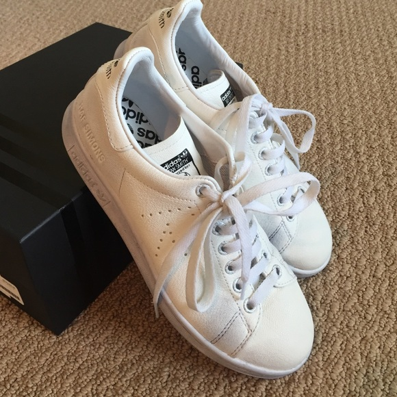 Raf Simons Stan Smith Aged White Adidas
