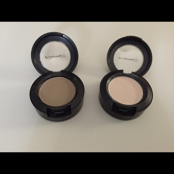 Mac Cosmetics Makeup Mac Vanilla And Omega Eyeshadow Poshmark
