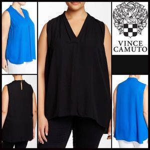 Vince Camuto Tops - ❗1-HOUR SALE❗VINCE CAMUTO TUNIC Blouse Top