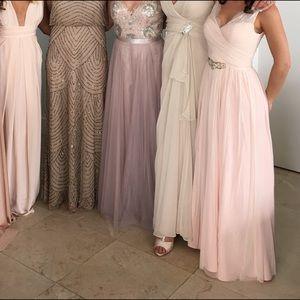 Sandstone Color Dress
