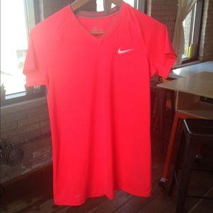 Women's Nike Pro Combat workout tee