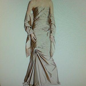 Monique Lhuillier Dresses & Skirts - ML MONIQUE LHUILLIER  BRIDESMAID STRAPLESS DRESS