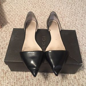Zara pointed toe flats
