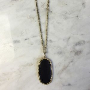 Kendra Scott Jewelry - Black Rae Necklace
