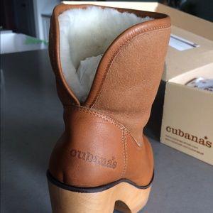 Camel 300 Poshmark Leathersheepskin Boots Shoes Cubanas Wave qwA0Zt
