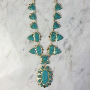 Kendra Scott Jewelry - Havana Statement Necklace in Turquoise