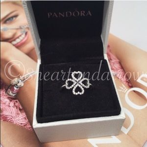 Pandora Petals of love ring. Pick a size