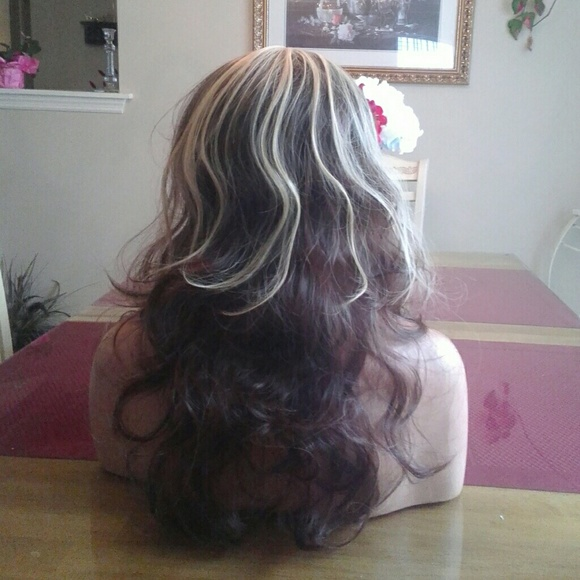 Brown Frosted Blonde Wig 91