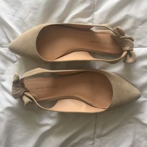 Sole Society Bow Slingbacks