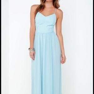 New! Lulus maxi dress