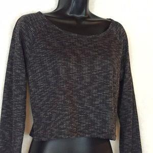 WallFlower med crop sweater NWOT lightweight