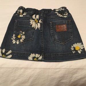 D&G Other - 🌺💕 D&G Junior Painted Denim Skirt 💕🌺