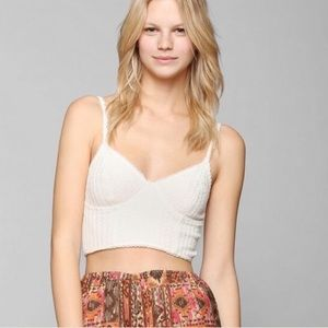 Pins & Needles Tops - Pins & Needles Crochet Bralette