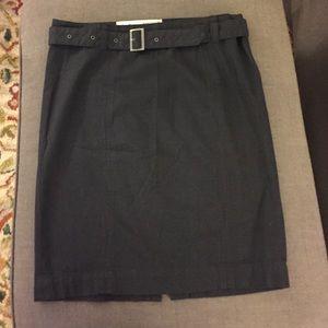 Converse One Star skirt. Side zipper