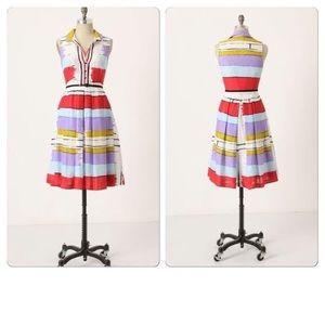 Floreat Chromatic Canvas Shirt Dress