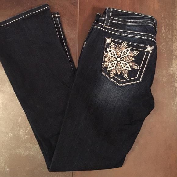 afc526d8e8d Miss Me jeans bundle mid-rise boot 27 30 dark. M 57197aeb56b2d610150062c3