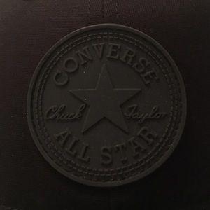 971e606c Converse Accessories | Black Core Monochrome Canvas Cap | Poshmark