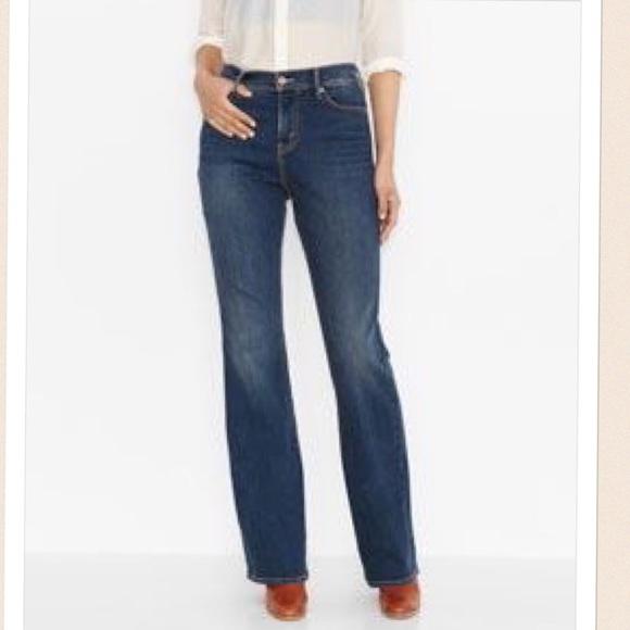 Levi's 512 slimming bootcut jeans women's plus