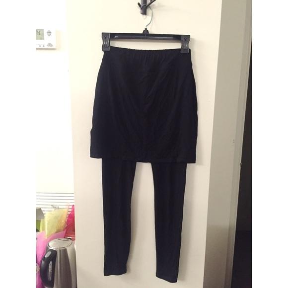 9a012b3fa0af9 Eileen Fisher Pants | Skirted Ankle Legging | Poshmark