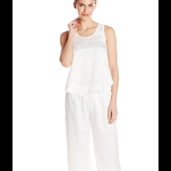 bf5ba942701 Flora Nikrooz Intimates & Sleepwear | Incredibly Soft Ivory Eliza Pj ...