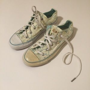 Converse All Star Light Yellow Bumble Bee Low Tops