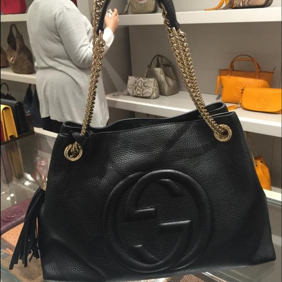 76b2f65f707 Gucci Bags - Gucci SoHo. Gucci Handbags - Gucci SoHo