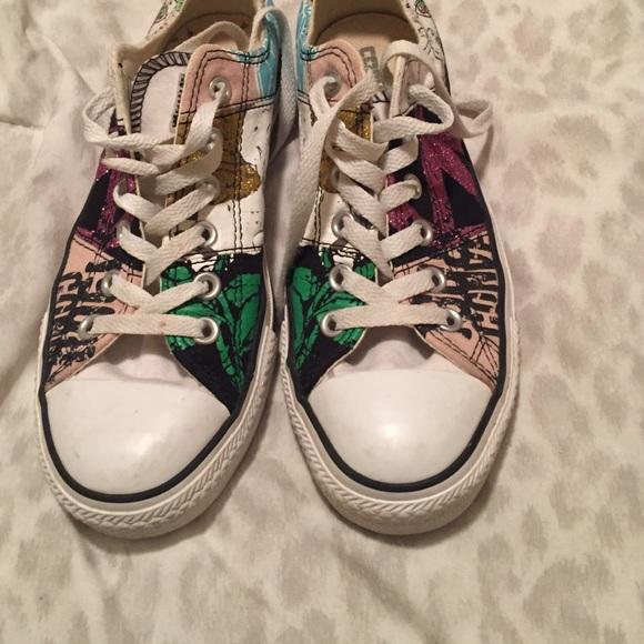 converse patch shoes