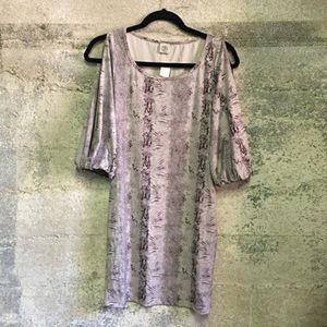 Brand new with tag cold shoulder dress