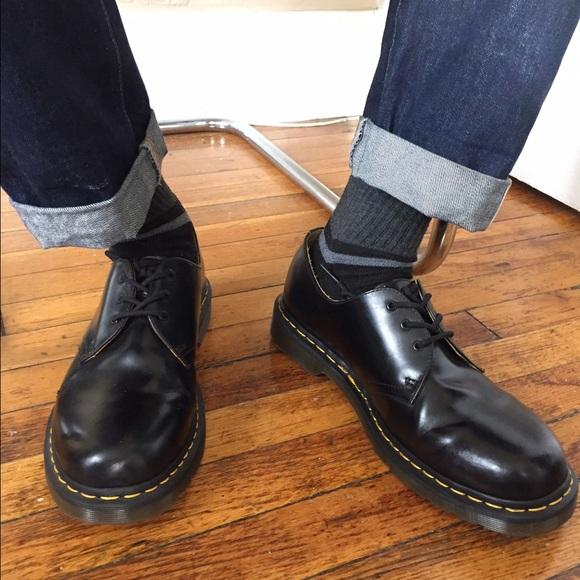 dr martens shoes mens dr martens 1461 gibsons 3 eye. Black Bedroom Furniture Sets. Home Design Ideas