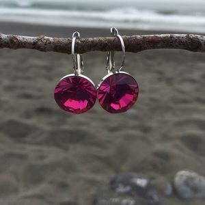 Jewelry - Handcrafted earrings with Swarovski crystal #23