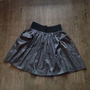 INC Gray Skater Skirt