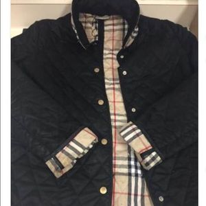 Burberry quilted coat jacket