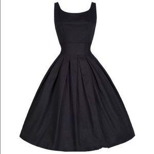 Dresses & Skirts - Black cotton vintage dress